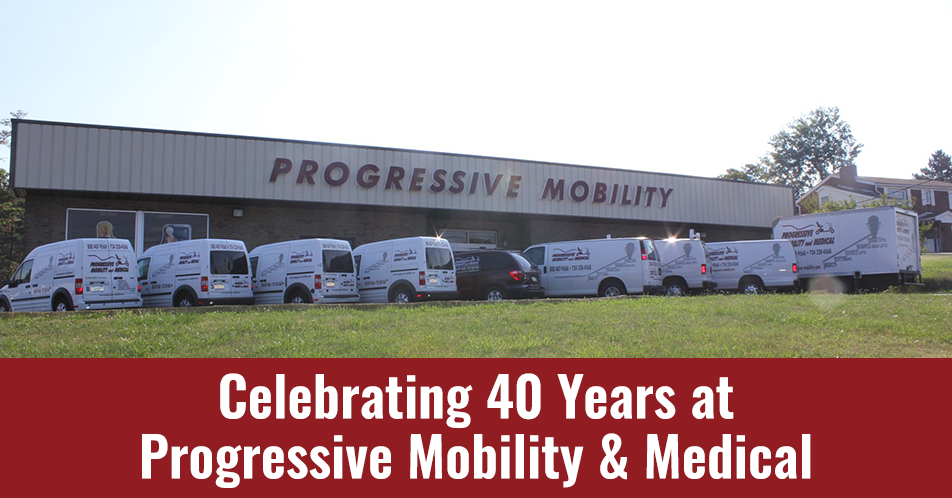 Celebrating 40 Years at Progressive Mobility & Medical