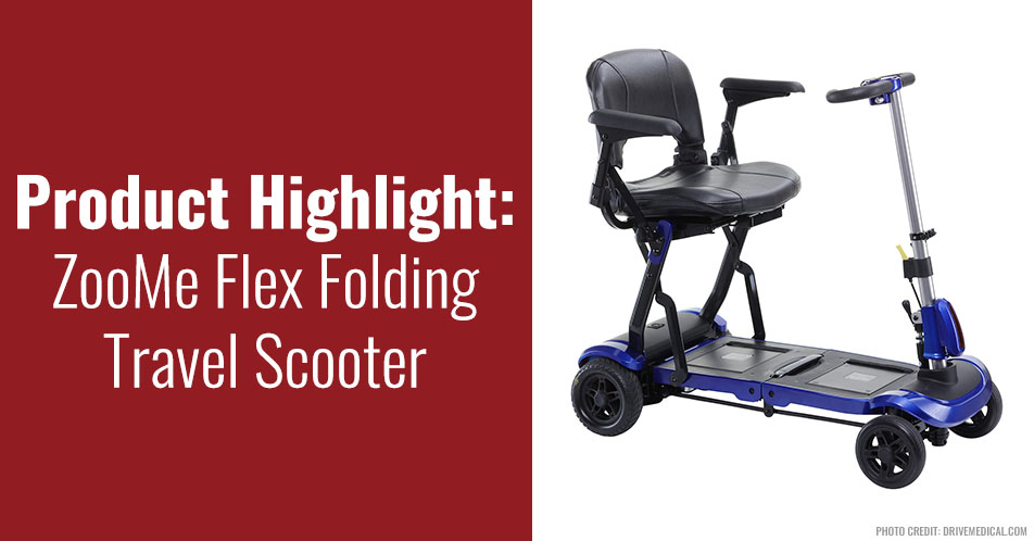Product Highlight: ZooMe Flex Folding Travel Scooter