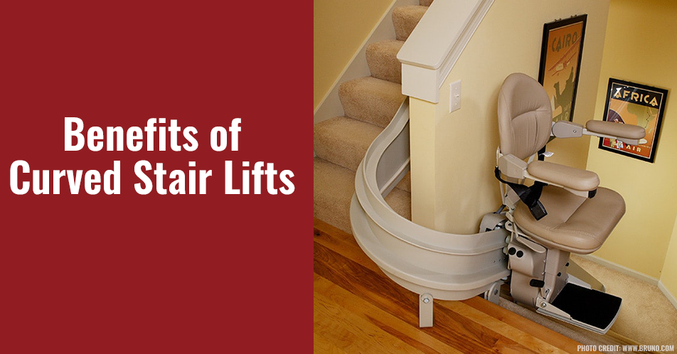 Benefits of Curved Stair Lifts